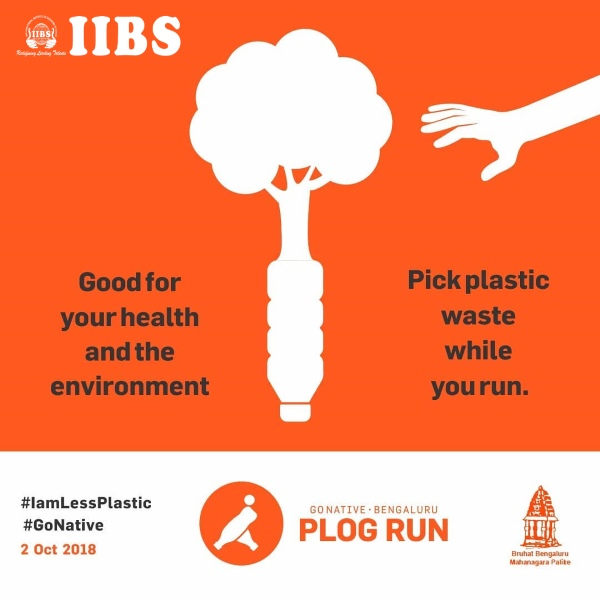 PLOG RUN 2nd October at IIBS Airport Campus, Bangalore
