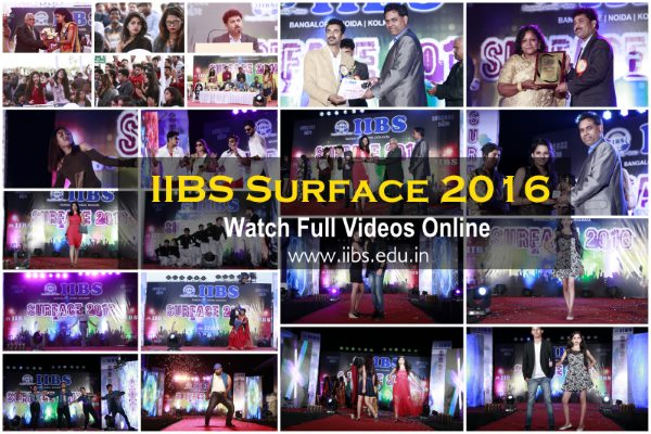 IIBS Surface Programme 2016, Watch Full Videos Online | IIBS Bangalore Campus