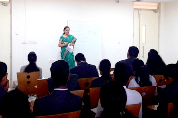 "Guest Lecture on ""Demonetization and Its Implication on Indian Economy"" by Mrs. Malini Nagaraj"
