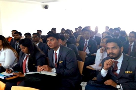 """Guest Lecture on """"Demonetization and Its Implication on Indian Economy"""" by Mrs. Malini Nagaraj"""