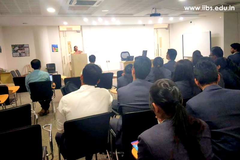 The Workshop was Conducted on WTO at IIBS Bangalore