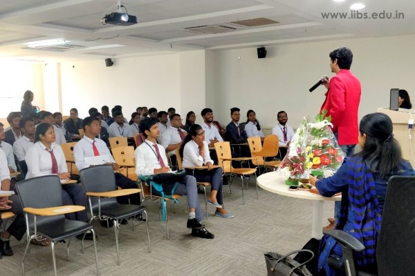 Guest Lecture on Job Opportunities by Mr. Paniraj Murthy - IIBS