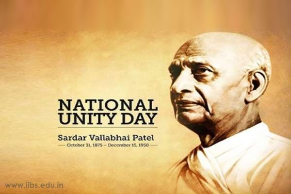 National Unity Day Celebrated in IIBS Bangalore Campus