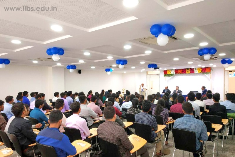 IIBS MOM: Orientation Program for PGDM Student Batch 2018-20 at Bangalore Campus