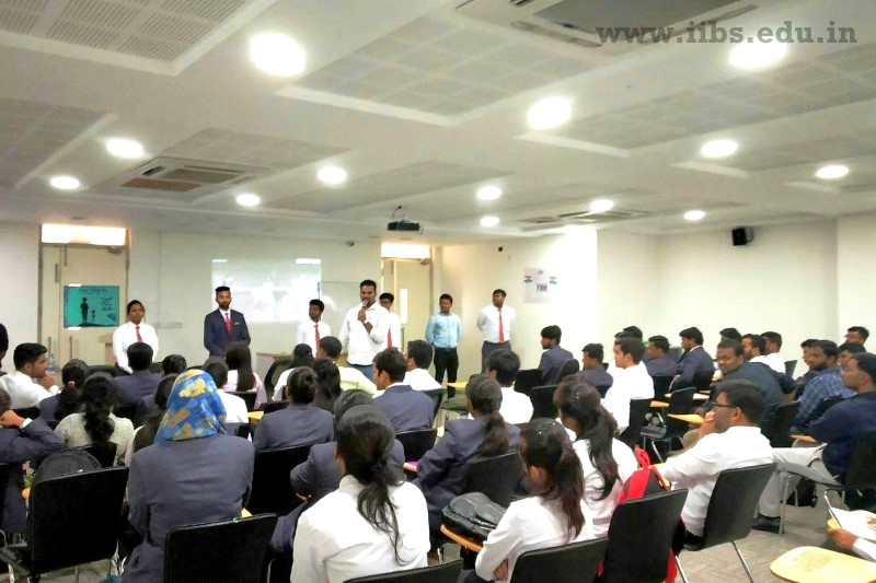 Hindustan Unilever HR Interacts with PGDM Student at IIBS Bangalore Campus