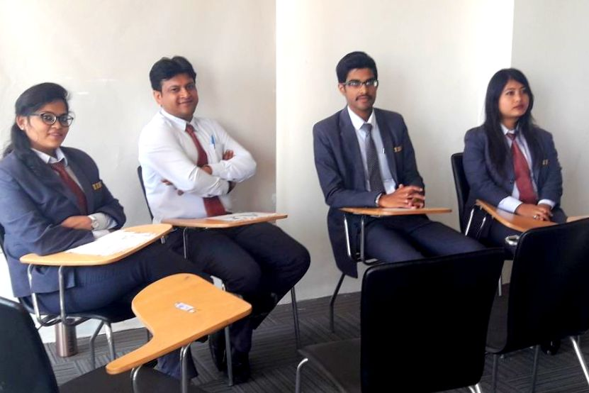 Interaction Skills for the PGDM Students of IIBS by Dr. Rajasulochana & Prof. Chaitra