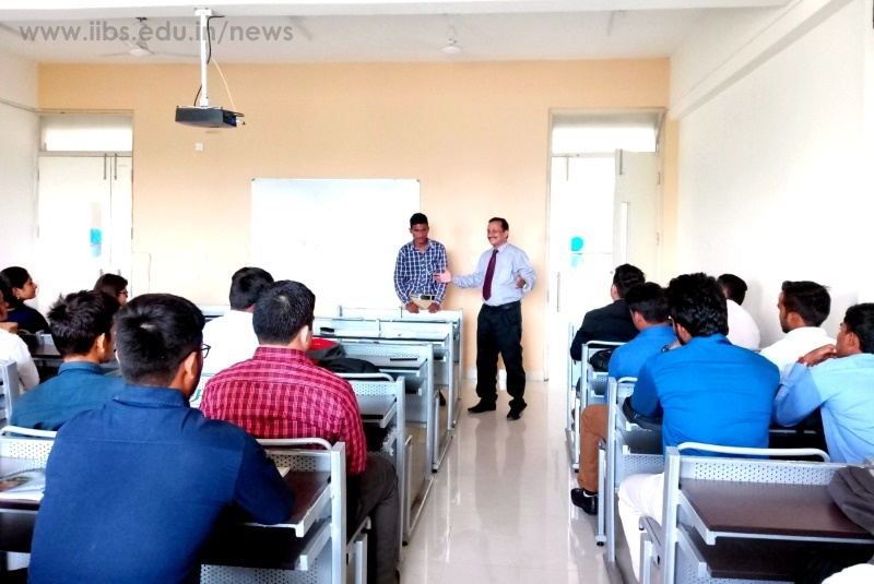 An Ice-Breaking Session for the New Batch of PGDM at IIBS Bangalore Campus