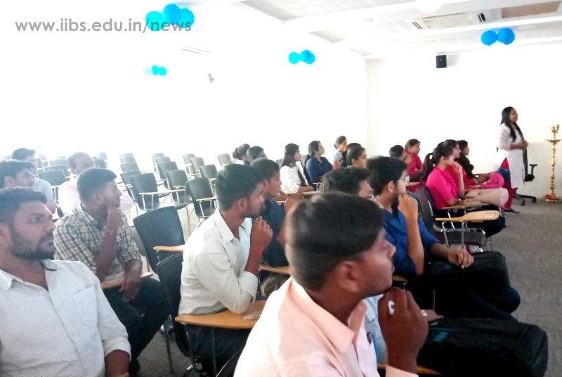 Campus to Corporate - A Training by Mrs. Sheela at IIBS Bangalore Campus