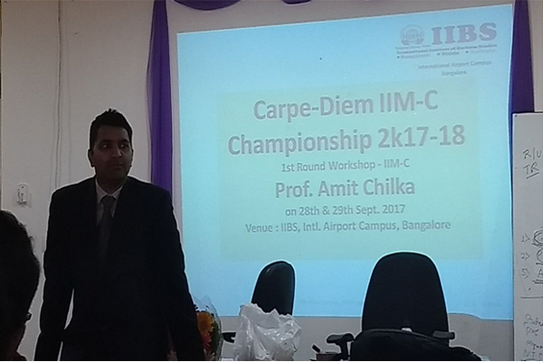 Carpe Diem IIM-C Championship 2k17  on 28th & 29th Sept.  at IIBS International Airport Campus, Bangalore