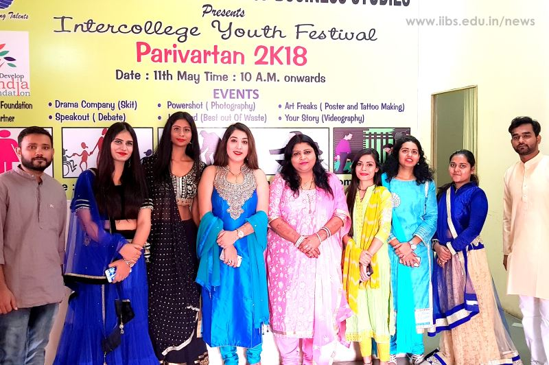 Jhilmil - 2018: A Festival of Light was Celebrated in IIBS Noida