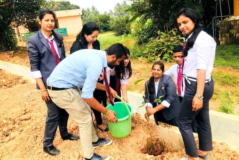 CSR Initiative: Tree Plantation involving MBA Student  - IIBS