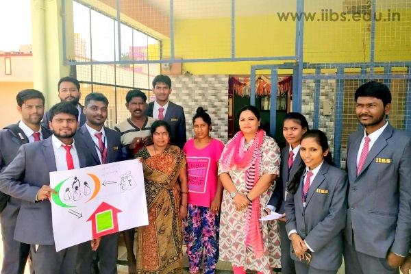 Microfinance Awareness in Hunasooru by IIBS PGDM Student