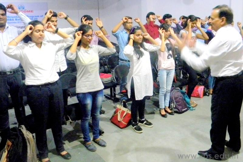 Welcome MBA 2018 Batch Orientation Program at IIBS Noida