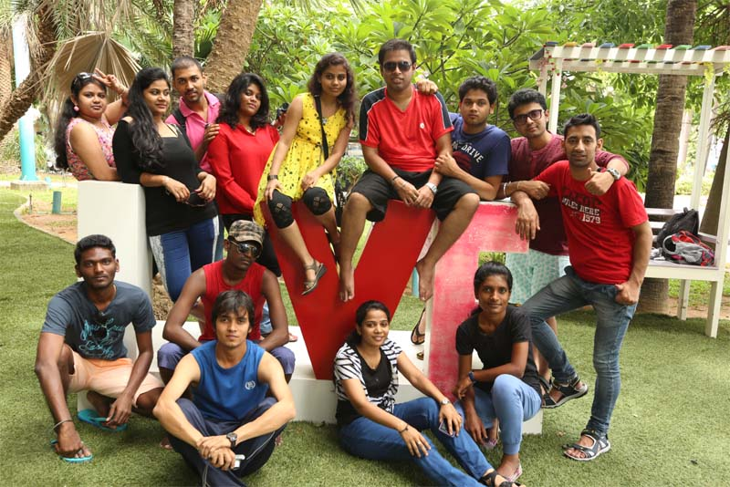 IIBS' campus tour is aimed at not just highlighting its facilities