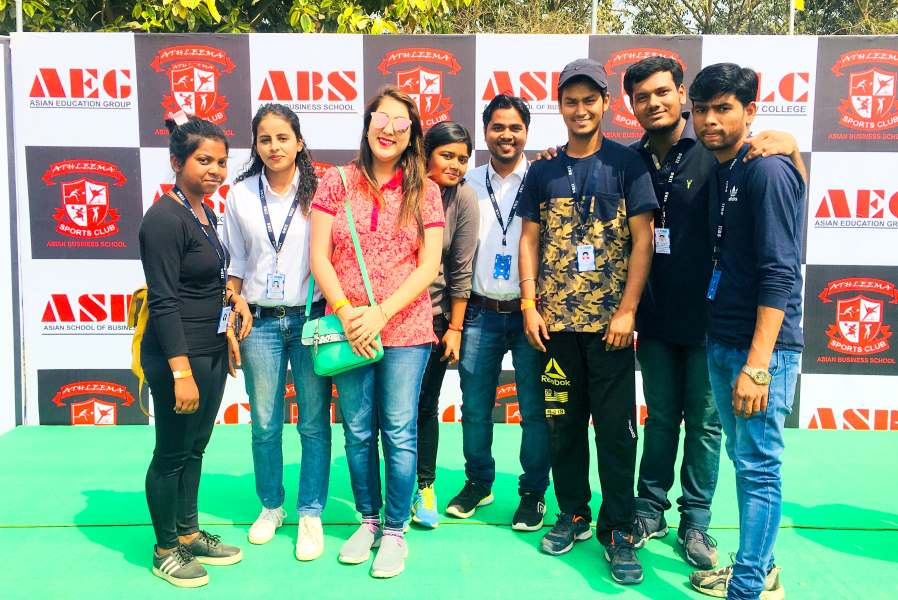 IIBS Noida MBA Students Participated in Intercollege Sports Meet of Delhi NCR