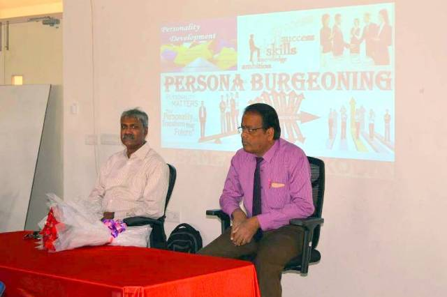 Guest Lecturer for IIBS MBA Students on PERSONA BURGEONING by Mr.Dhanushkodi