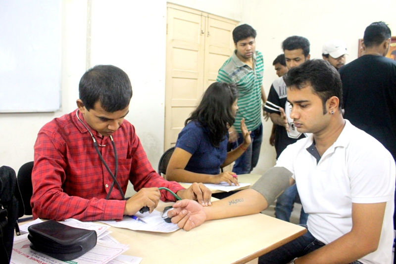 CSR Initiative: Blood Donation Camp Organised by IIBS Kolkata