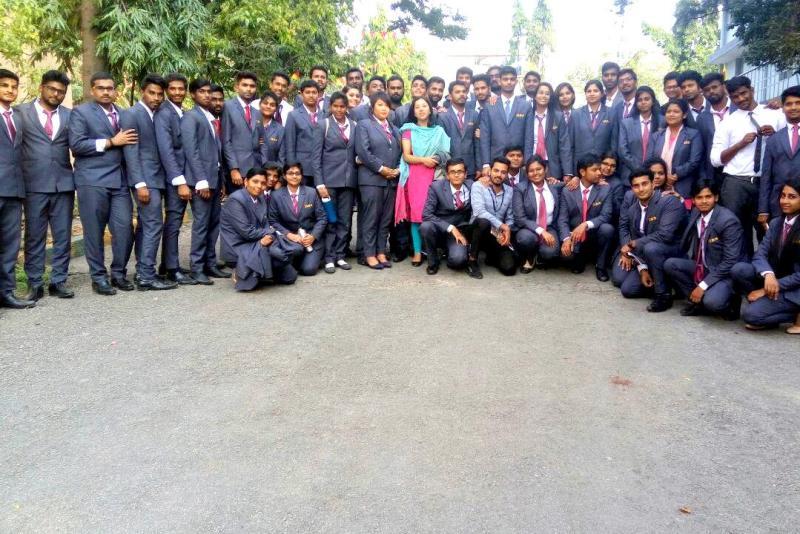 Industrial visit to Karnataka Soaps & Detergents Factory - IIBS