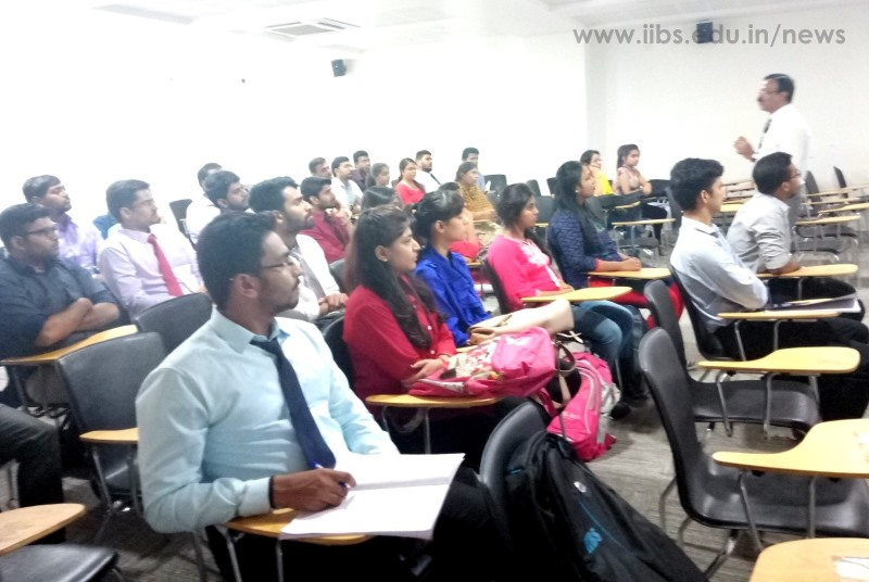 Make it or Break it; A Professional Skill to IIBS PGDM Student by Dr. Prakash