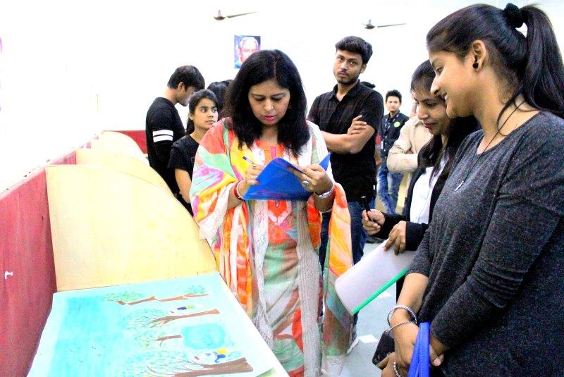 Management Festival Parivartan 2K18 organized by IIBS Noida