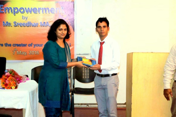Make yourself Important – Self Empowerment Talk at IIBS