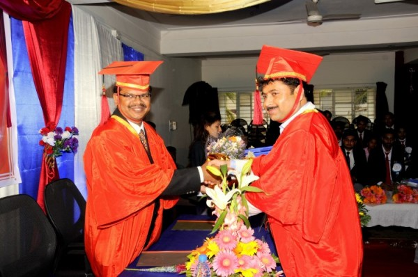 Graduation Day 2016 at IIBS Business School, Bangalore