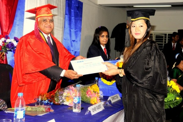 Graduation Day 2016 at IIBS Business School, Bangalore