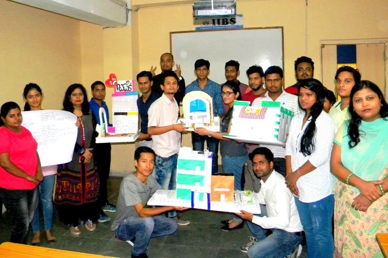 Leading through Innovation Session at IIBS Noida Campus