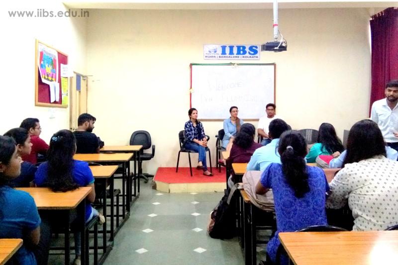 Career Guidance Session & Alumni Interaction at IIBS Noida