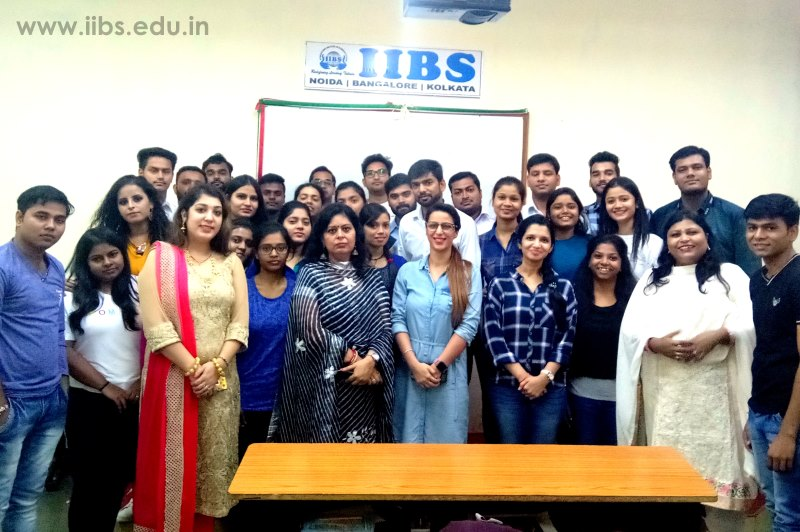 Career Guidance Session & Alumni Interaction at IIBS Noida
