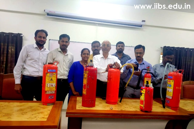 Fire Safety and Emergency Services Training at IIBS Bangalore