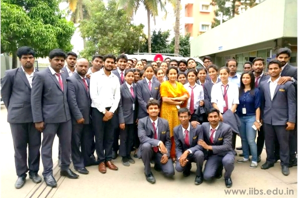 Industrial visit for MBA Students to Shahi Exports, Bangalore...