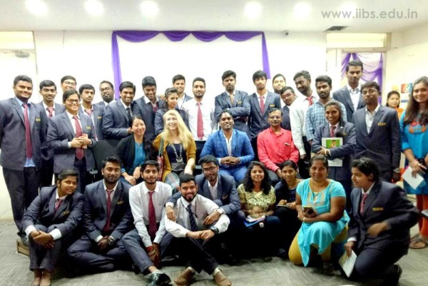 Offshore Interaction by Grace Mimbs (Artisan & Designer) at IIBS Bangalore Campus
