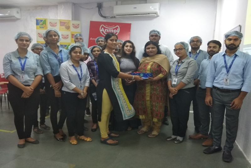 Industrial visit at Anmol Bakers Pvt. Ltd.