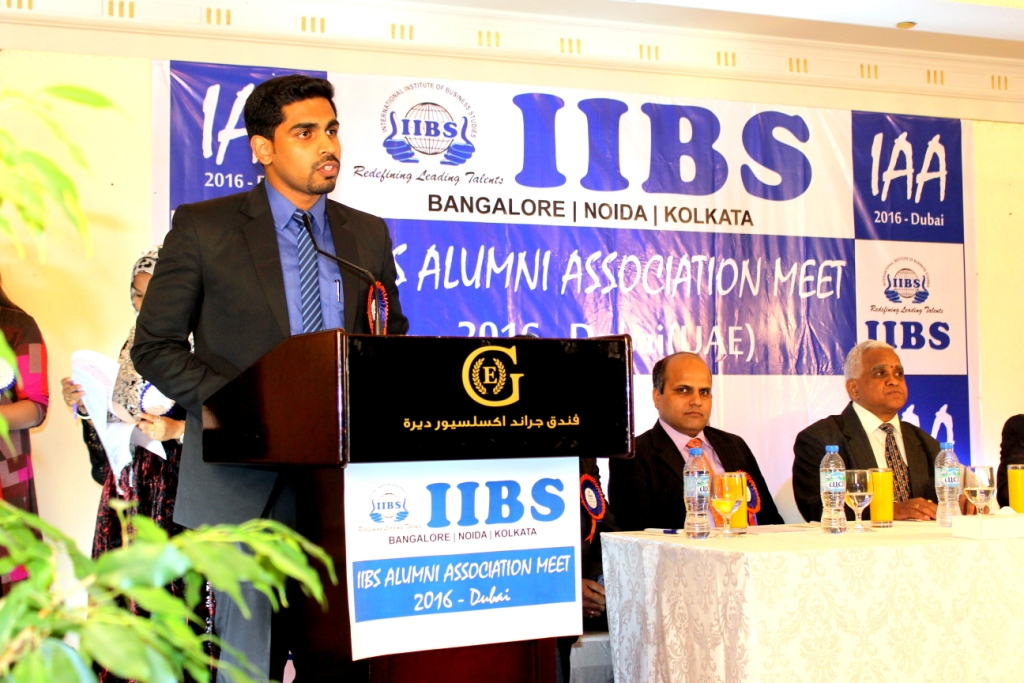 IIBS Alumni Meet-2016 held in Dubai