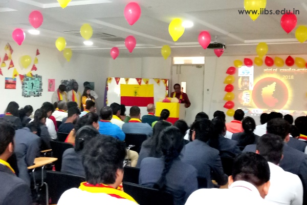 63rd Kannada Rajyotsava Celebrations in IIBS Bangalore Campus