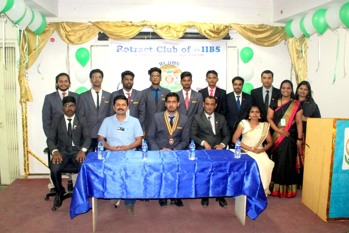 Installation Ceremony of the Rotaract Club at IIBS Bangalore