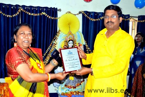 IIBS Kolkata Felicitating Prof. Souren Koner for his Academic Achievement