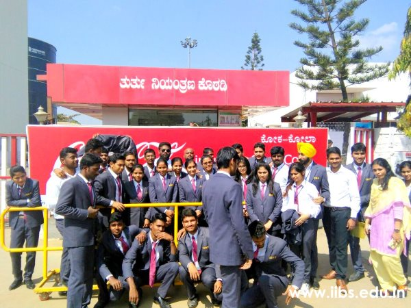 Industry Visit to Coca Cola Manufacturing Unit for IIBS MBA/PGDM Students