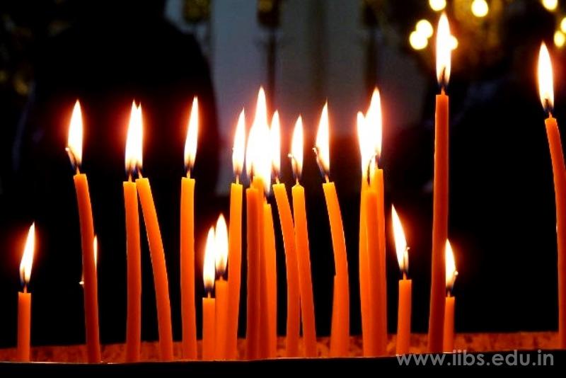 Pulwama Attack: Candle Light Vigil held at IIBS Kolkata