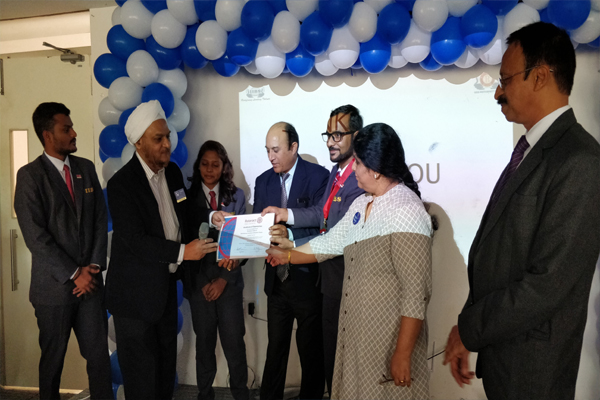 IIBS Rotaract Office Bearers Installation Program