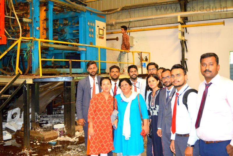 Industrial visit to Hindpac by MBA & PGDM Student of IIBS Bangalore