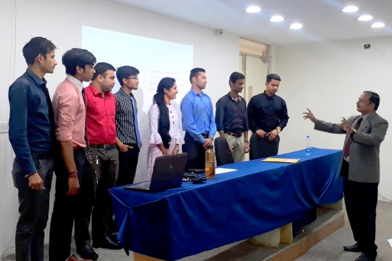SWOT Analysis for Your Career a Session at IIBS Bangalore by Dr. Samir R Pradhan