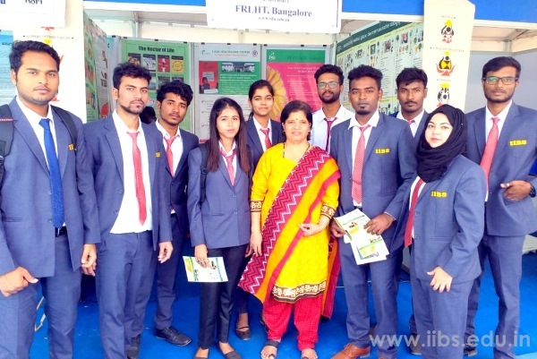 IIBS MBA Student at Krishi Mela / Agricultural Fair in Bangalore