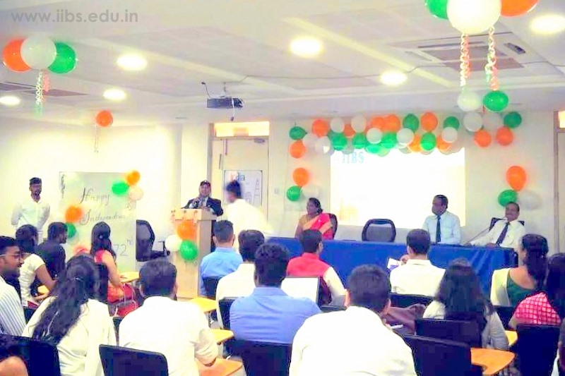 Independence Day Celebration at IIBS College in Bangalore