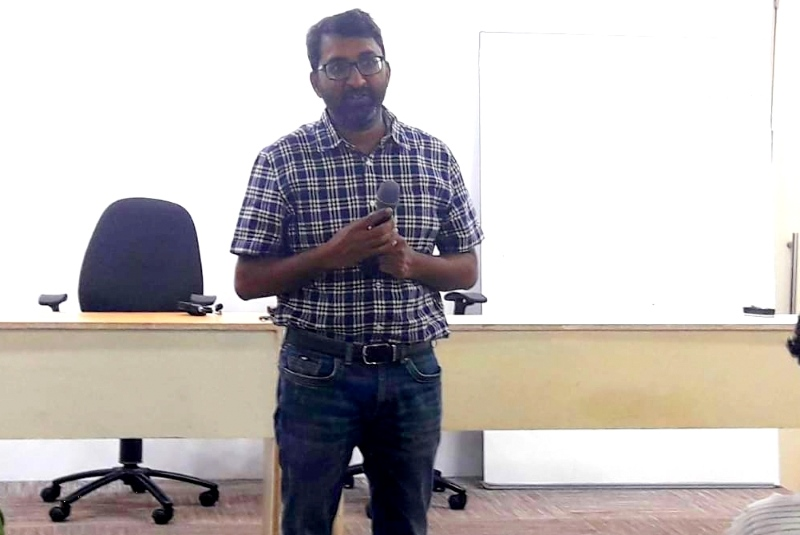 Placement Orientation Program at IIBS Bangalore by Mr. Mangesh Gawande, CEO at QDigi Services Ltd.