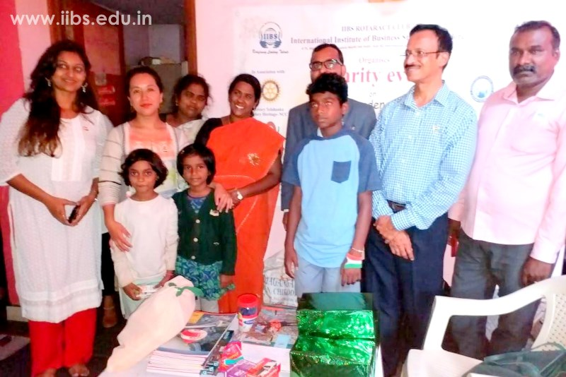 IIBS Celebrated Independence Day with Orphanage Kids