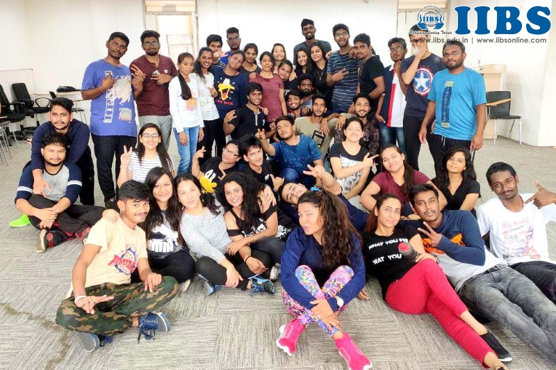 Why Zumba is fun to get fit? A session by Rubina Sheikh at IIBS