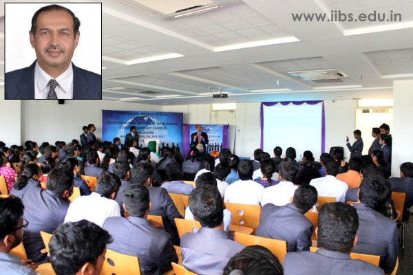 Corporate Guidance by Leadership Coach Dr. B.C. Rao at IIBS