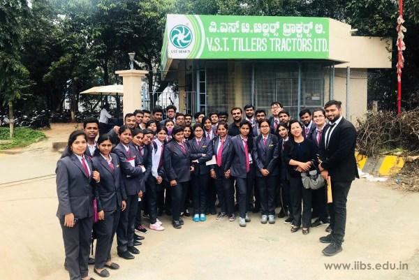 Industrial visit IIBS MBA Students to VST Tillers Tractors Ltd.